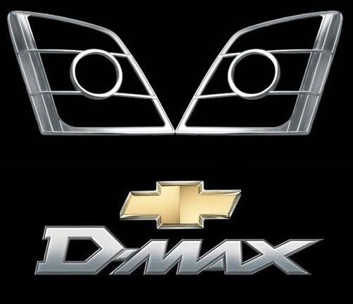 Kit Cromado Para Faros De Chevrolet Luv Dmax  2010-2012