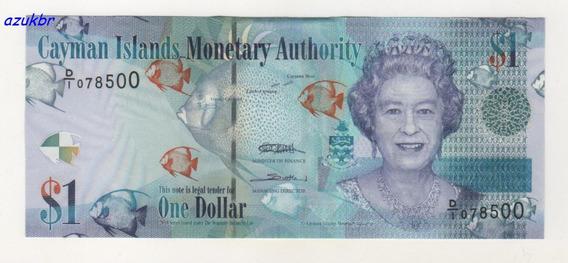 * Ilhas Cayman - 1 Dollar 2010 - Prefix D1 - P-38a - Fe *