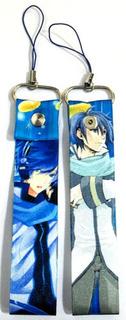 Correa Para Celular De Vocaloid Kaito Anime Phonestrap
