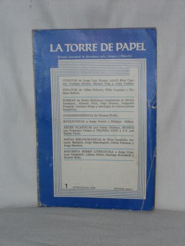 Imagen 1 de 1 de La Torre De Papel Junio - Julio 1980