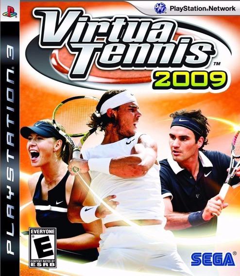 Ps3 Virtua Tennis 2009 Lacrado