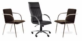 Conj Kit Cadeira Escritório (100% Nacional)