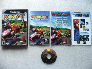 Game Cube: Mario Kart Double Dash Completo + Extras!! Raro!!