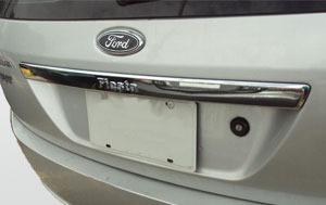 Platina Cromada Para Ford Fiesta