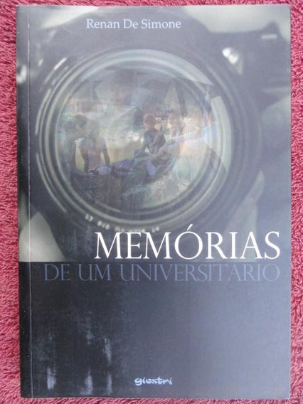 Memórias De Um Universitário Renan De Simone