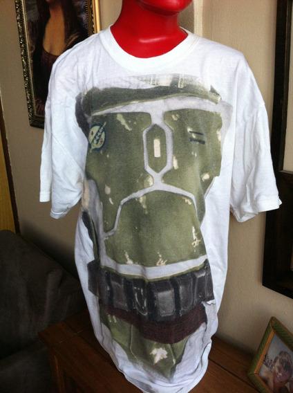 Camiseta Boba Fett Star Wars Importada Licenciada Usada