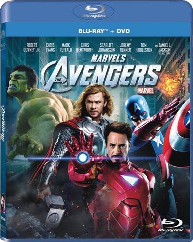 The Avengers ( Los Vengadores ) Blu-ray / Dvd Combo Original