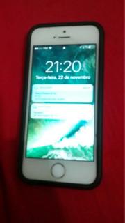 iPhone 5s Prata/branco
