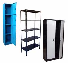 Fabricación De Lockers Estantes Y Armarios Metálicos