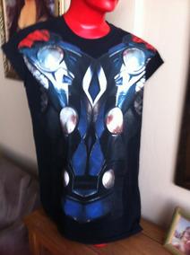 Camiseta Thor Avengers Movie Importada Licenciada Usada