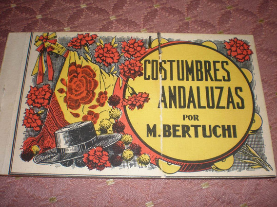 Antiguo Cuadernillo De 10 Tarjetas Postales Españolas