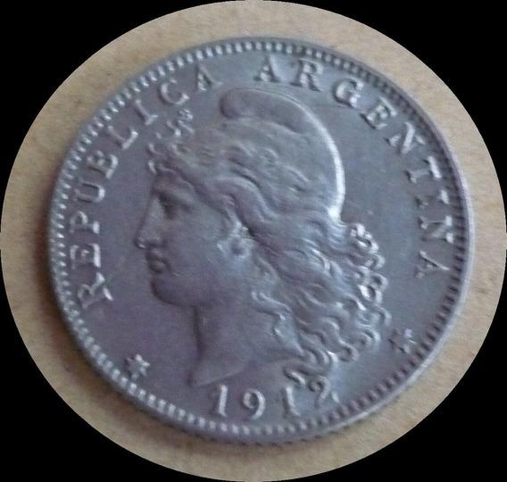 Argentina Moneda 20 Centavos 1912 Sin Circular