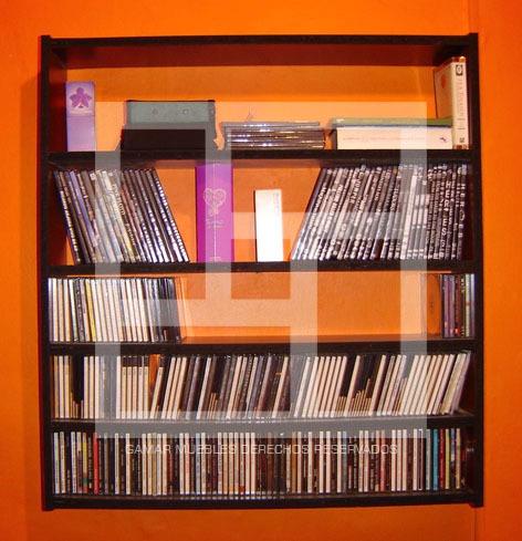 Repisa Estanteria Hacemos A Medida Cd, Dvd, Blu Ray, Ps4.