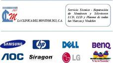 Clinica Del Monitor,servicio Reparacion, Monitores Lcd Tv