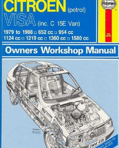 Manual De Taller Citroen Visa (1978-1988) Ingles