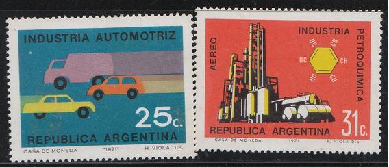 Argentina 1970 - 2 Sellos Mello N° 904 Y A 140 Mint