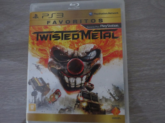 Twisted Metal Para Sony Playstation 3 Ps3