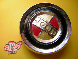 Jeep Gladiator - Insignia Medallon Jeep De Parrilla !!!!!!