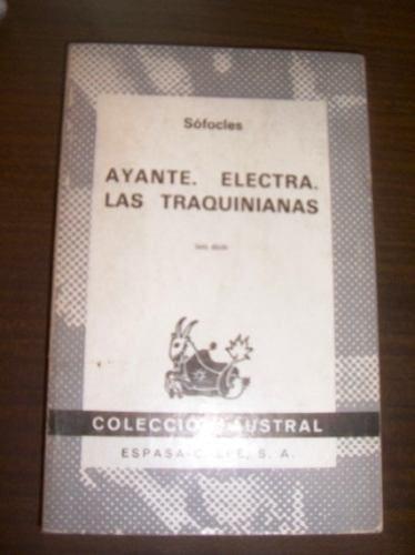 Sofocles  Ayante-electra- Las Traquianas