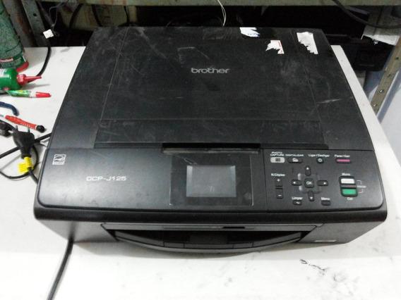 Impressora Brother Dcp J125 Com Defeito