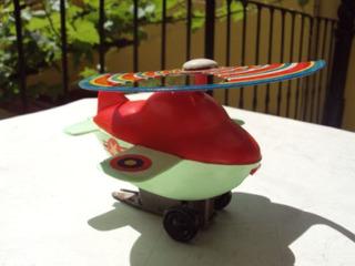 Helicoptero A Cuerda Puky Ind Argentina Juguete Antiguo