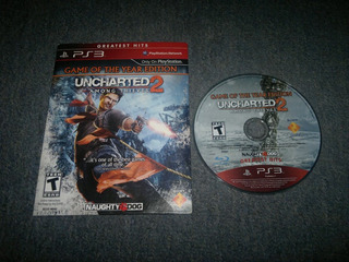 Uncharted 2 Among Thieves Caja De Carton Para Play Station 3