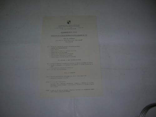 Promocion 1952 Fundacion Otto Krause Programa 1952 Alumno