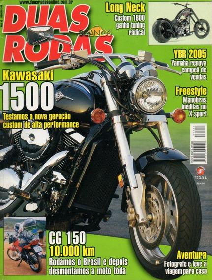 Duas Rodas N°348 Kawazaki 1500 Yamaha Ybr 125 Cg 150 Titan