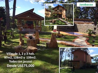 Oferta! Villas De 1, 2 Y 3h, En Jarabacoa, Desde Us$75,000