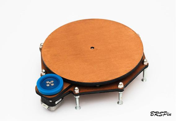 Mesa Rotativa De 250mm Brspin 360 Para Fotos Vídeos