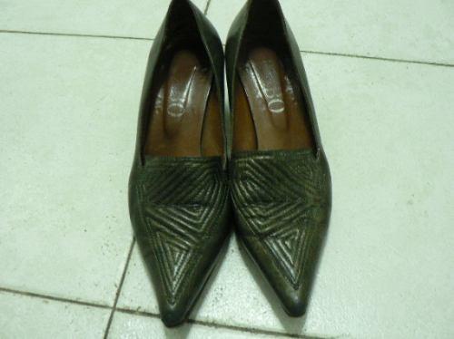 Zapato Cuero Febo Nº 37 713enanitos