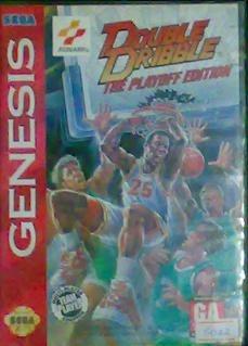 Sega Genesis Juego Y Caja (double Dribble)