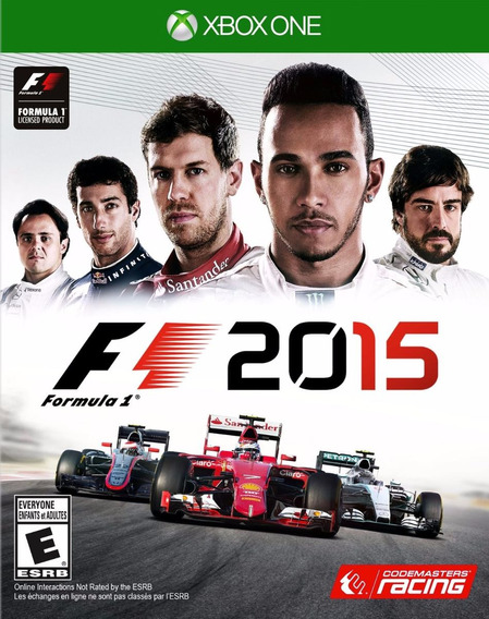 F1 2015 - Xbox One - Pronta Entrega!