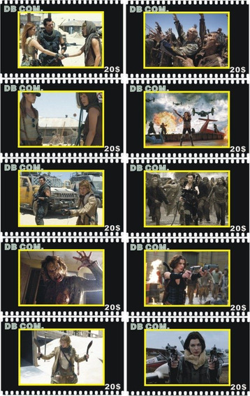 Resident Evil - Lote De 10 Tarjetas Telefonicas Chinas