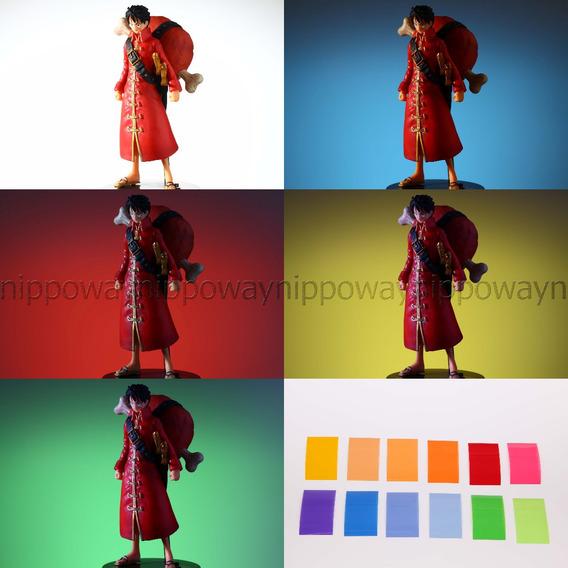 Gel Gelatina Colorido Flash Canon Nikon Sony Yongnuo Pentax