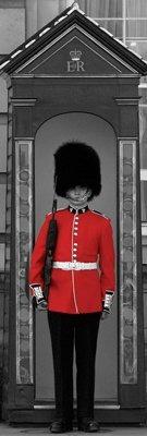 Poster De Londres - Buckingham Palace Guard - 30 X 91 Cm