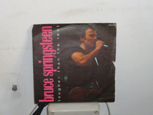 Bruce Springsteen Tougher Than The Rest Simple 7 Ingles Mercado Libre