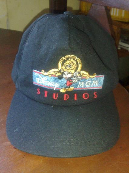 Hermosa Gorra De Disney Mgm Studios - Original Traida De Usa