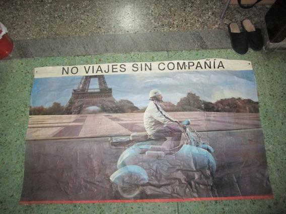 Publicidad Vespa Con Sidecar