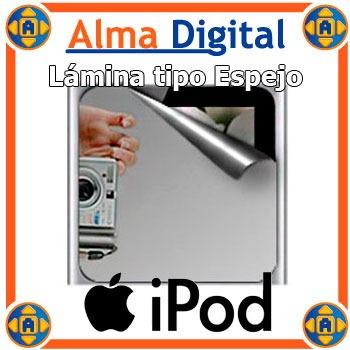 Lámina Protector Pantalla Espejo Para iPod Nano 6 6g + Paño