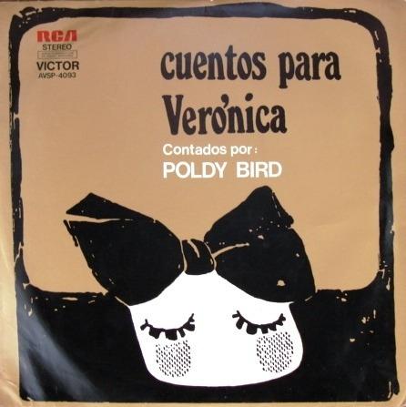Poldy Bird - Cuentos Para Verónica - Lp Año 1972
