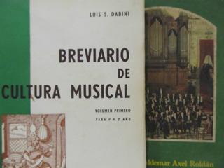 El Arcon Cultura Musical Y Breviario De Cultura De Musical