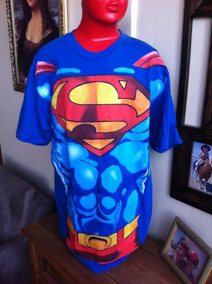 Camiseta Superman Super Homen Importada Licenciada Usada