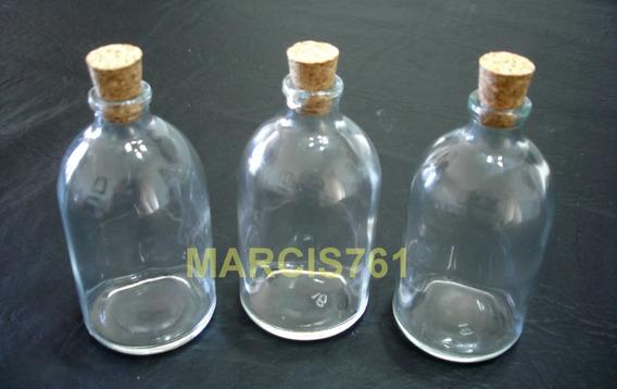 Botellitas Envase Frascos Difusor Vial 100 Cc Corcho X 30