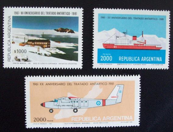 Argentina, Serie Gj 1978-80 Tratado Antárt Mint L1039
