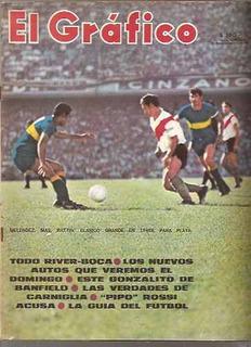El Gráfico 2578 D-gonzalito-banfield/guia Del Futbol 1969