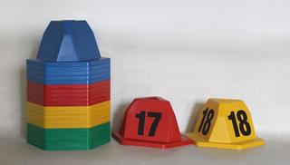 Conos Y Piramides Imantados Para Taller Y Concesionario.