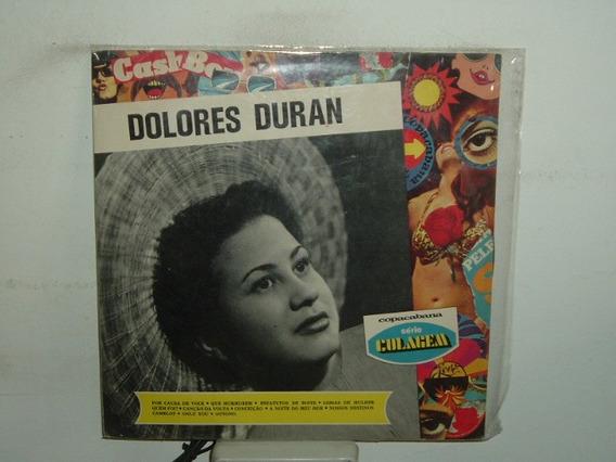 Dolores Duran Por Causa De Voce Vinilo Brasilero