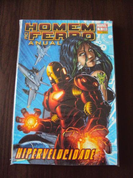Homem De Ferro Anual # 01 - Marvel Comics - Panini