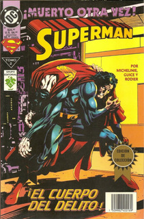 Revista: Superman Muerto Otra Vez N°2 (vid)